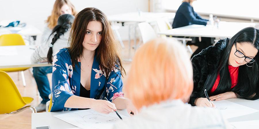 Study Fashion Design B A In Berlin Atelier Chardon Savard