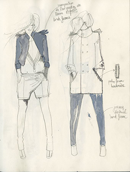 Fashion drawing ACS
